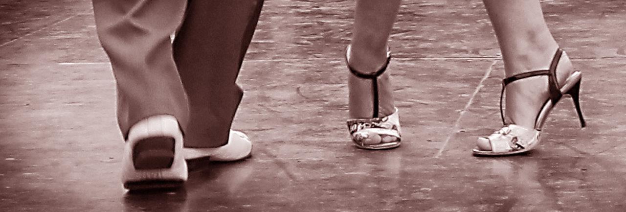 Initiatie tango tijdens de zomer