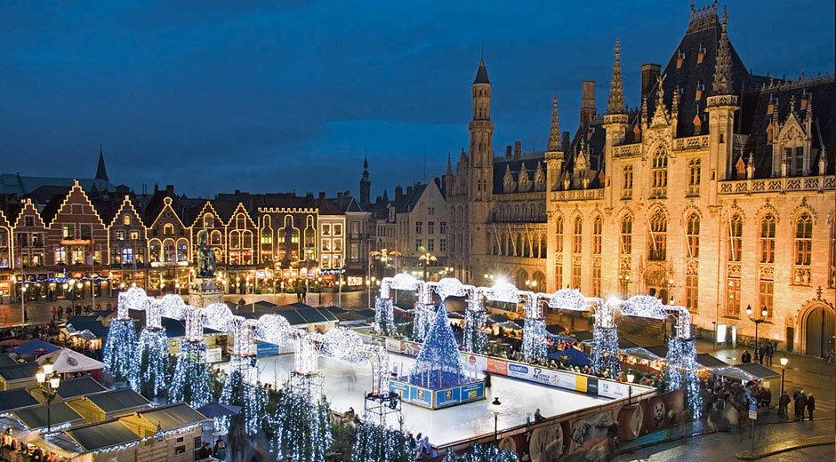 Geniet van de kerstmarkt te Brugge met als hoogtepunt de Gran Milonga in de prachtige stadsschouwburg!